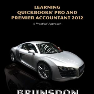Solution Manual (Complete Download) for   Learning QuickBooks Pro and Premier Accountant 2012