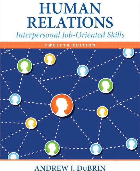 Solution Manual (Complete Download) for   Human Relations: Interpersonal Job-Oriented Skills