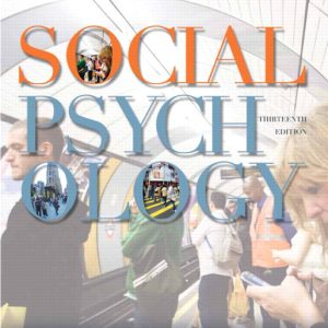 Solution Manual (Complete Download) for   Social Psychology