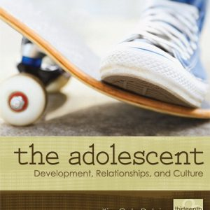 Test Bank (Complete Download) for Adolescent