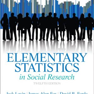 Test Bank (Complete Download) for   Elementary Statistics in Social Research