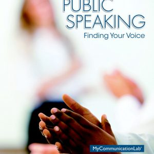 Test Bank (Complete Download) for   Public Speaking: Finding Your Voice