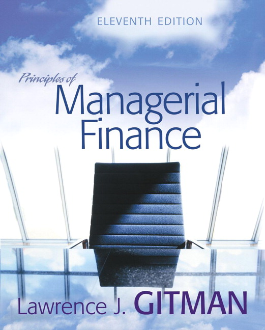 managerial finance test Known for his writing style & integrated system of learning, lawrence j gitman breaks down his best selling principles of managerial finance text into a brief edition to meet the changing needs of today's educators.