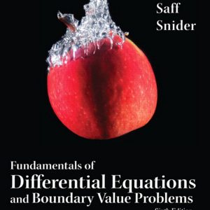 Solution Manual (Complete Download) for   Fundamentals of Differential Equations and Boundary Value Problems