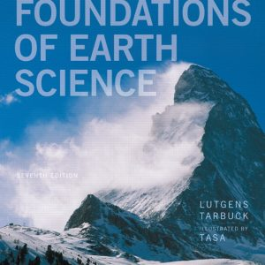 Test Bank (Complete Download) for   Foundations of Earth Science