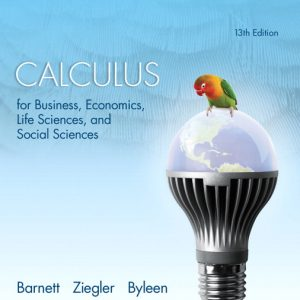 Solution Manual (Complete Download) for   Calculus for Business