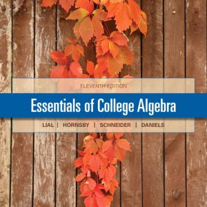 Test Bank (Complete Download) for   Essentials of College Algebra