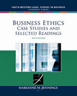Test Bank (Complete Download) for   Business Ethics: Case Studies and Selected Readings