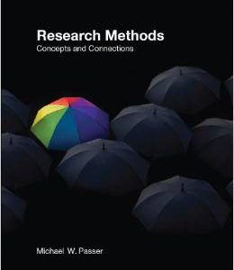 Test Bank (Complete Download) for  Research Methods Concepts and Connections 1st Edition