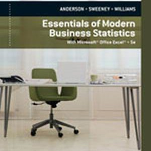 Solution Manual (Complete Download) for   Essentials of Modern Business Statistics with Microsoft® Excel®