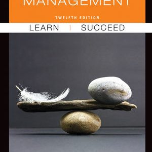 Solution Manual (Complete Download) for   Management