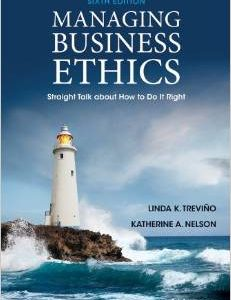 Test Bank (Complete Download) for  Managing Business Ethics Straight Talk about How to Do It Right 6th Edition