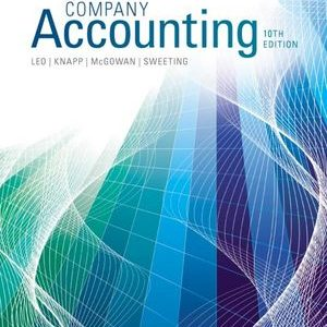 Test Bank (Complete Download) for   Company Accounting
