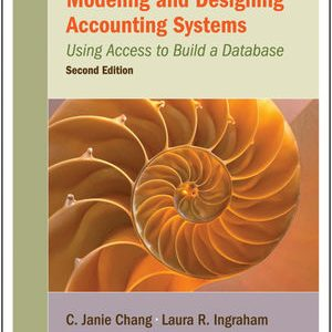 Solution Manual (Complete Download) for   Modeling and Designing Accounting Systems: Using Access to Build a Database