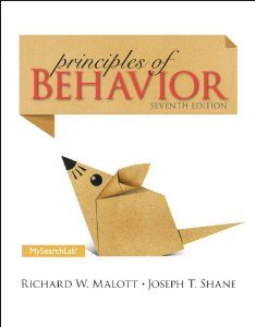 Test Bank (Complete Download) for Principles of Behavior 7th Edition