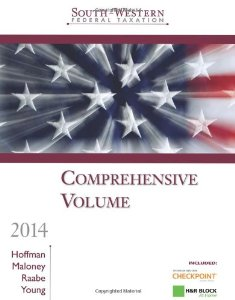 Test Bank (Complete Download) for  SouthWestern Federal Taxation 2014 Comprehensive Professional Edition 37th Edition