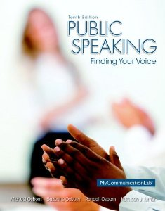 Test Bank (Complete Download) for  Public Speaking Finding Your Voice 10th Edition