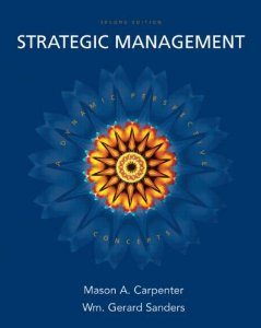 Test Bank (Complete Download) for  Strategic Management A Dynamic Perspective Concepts 2nd Edition Mason A Carpenter