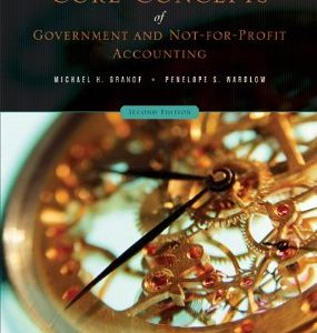 Test Bank (Complete Download) for  core concepts government nfp accounting
