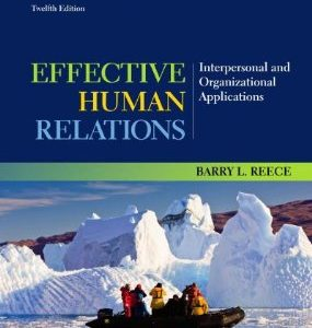 Test Bank (Complete Download) for  Effective Human Relations Interpersonal and Organizational Applications