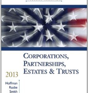 Test Bank (Complete Download) for  South Western Federal Taxation 2013 Corporations Partnerships Estates and Trusts