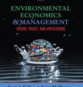 Test Bank (Complete Download) for  Environmental Economics and Management Theory Policy and Applications