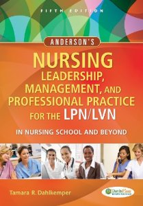 Test Bank (Complete Download) for  Andersons Nursing Leadership Management and Professional Practice For The LPN LVN In Nursing School and Beyond 5th Edition