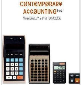 Test Bank (Complete Download) for  Contemporary Accounting