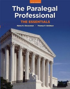 Test Bank (Complete Download) for  The Paralegal Professional: The Essentials