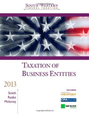 Test Bank (Complete Download) for  South Western Federal Taxation 2013 Taxation of Business Entities