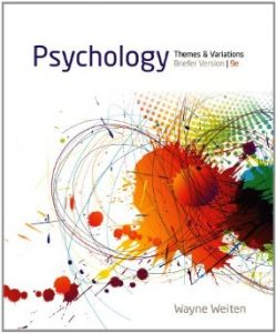 Test Bank (Complete Download) for  Psychology Themes and Variations Briefer Version
