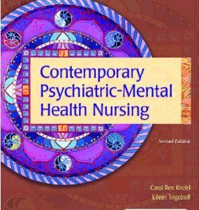 Test Bank (Complete Download) for  Contemporary Psychiatric Mental Health Nursing