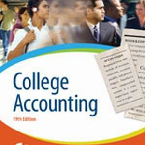 Solution Manual (Complete Download) for   College Accounting