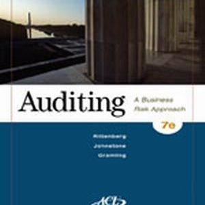 Test Bank (Complete Download) for   Auditing: A Business Risk Approach
