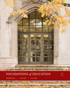 Test Bank (Complete Download) for   Foundations of Education