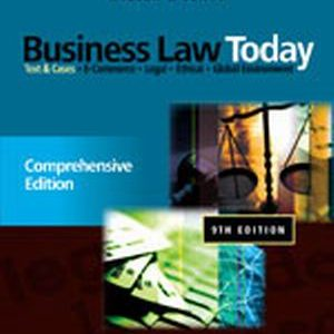 Solution Manual (Complete Download) for   Business Law Today: Comprehensive