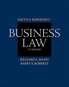 Test Bank (Complete Download) for   Smith and Roberson's Business Law
