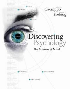 Test Bank (Complete Download) for   Discovering Psychology: The Science of Mind