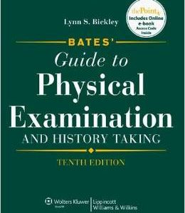 Test Bank (Complete Download) for   Bates' Guide to Physical Examination and History Taking