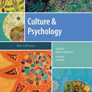 Solution Manual (Complete Download) for   Culture and Psychology