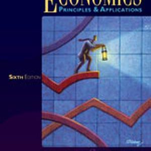 Test Bank (Complete Download) for   Economics: Principles and Applications