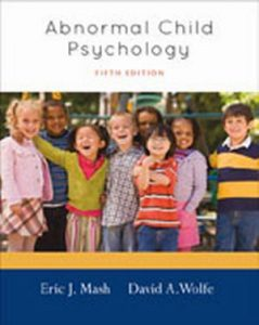 Solution Manual (Complete Download) for   Abnormal Child Psychology