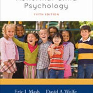 Test Bank (Complete Download) for   Abnormal Child Psychology