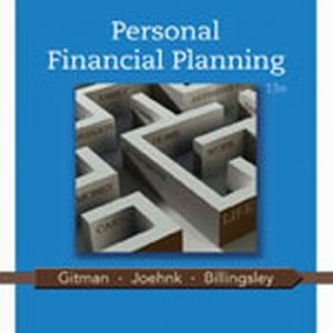 Solution Manual (Complete Download) for   Personal Financial Planning