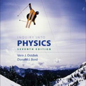 Solution Manual (Complete Download) for   Inquiry into Physics