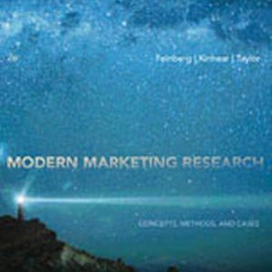 Test Bank (Complete Download) for   Modern Marketing Research: Concepts