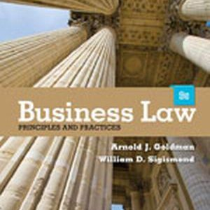 Solution Manual (Complete Download) for   Business Law: Principles and Practices