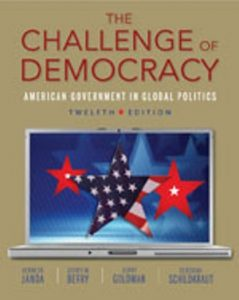 Test Bank (Complete Download) for   The Challenge of Democracy