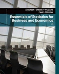 Test Bank (Complete Download) for   Essentials of Statistics for Business and Economics
