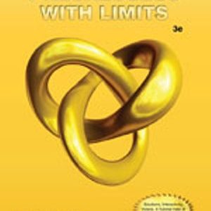 Solution Manual (Complete Download) for   Precalculus with Limits
